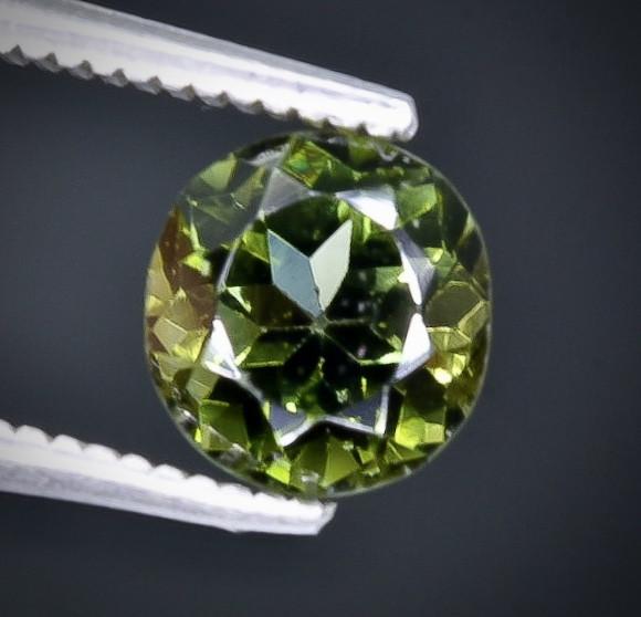 Crt  1.52 tourmaline  Faceted Gemstone (Rk-30