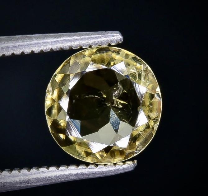Crt  1.54 tourmaline   Faceted Gemstone (Rk-30