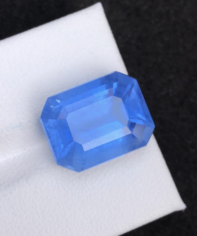 Aquamarine 9.80 Top Natural Blue Color Aquamarine