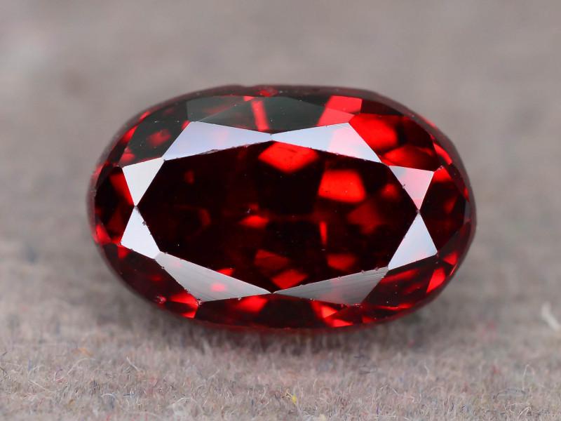 Top Grade 2.80  ct Fancy Cut Red Garnet