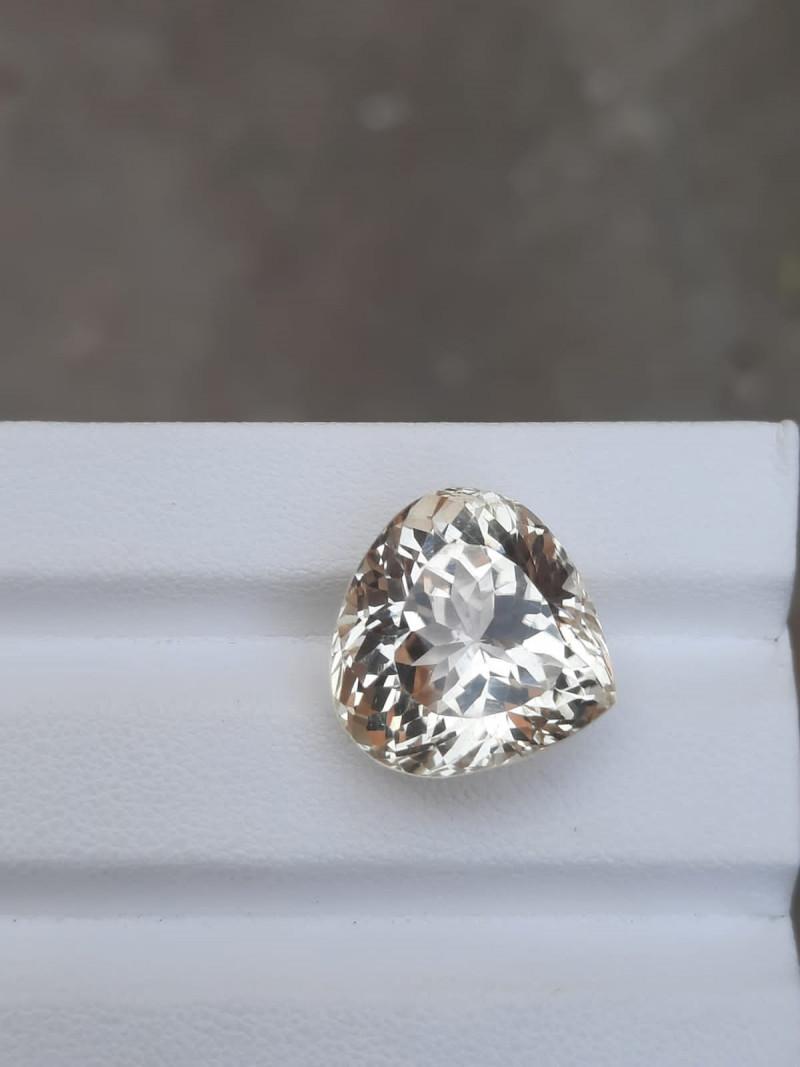 HGTL Certified 22.90 Carats Natural Kunzite Nice Cut Gemstone