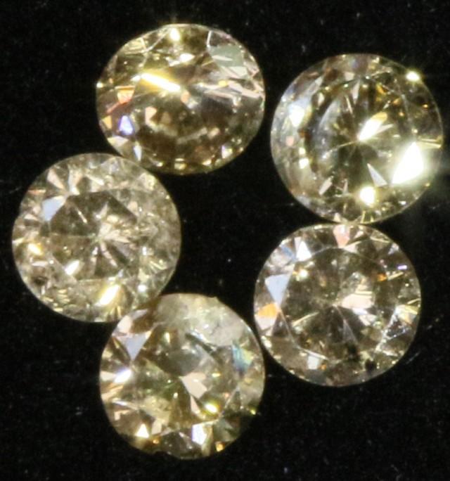PARCEL 5  ARGYLE CONGAC  DIAMONDS VS 0.23  CARATS  OP 1182