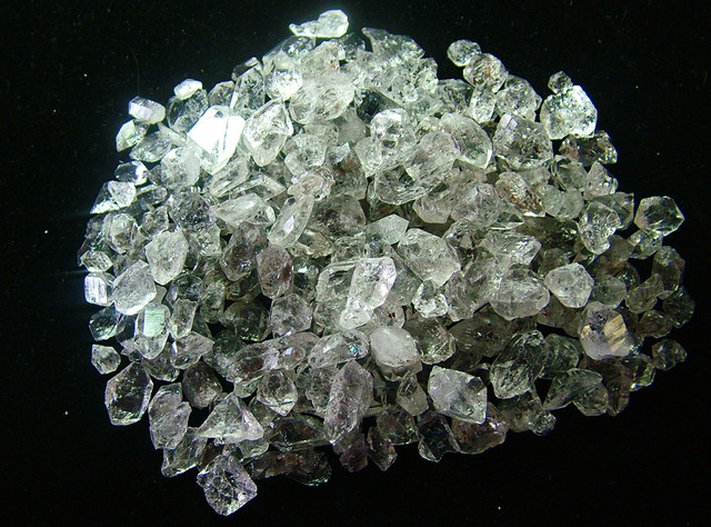 CRYSTAL QUARTZ-LIKE HERKIMER-DIAMOND PARCEL 274 CT AS 5054
