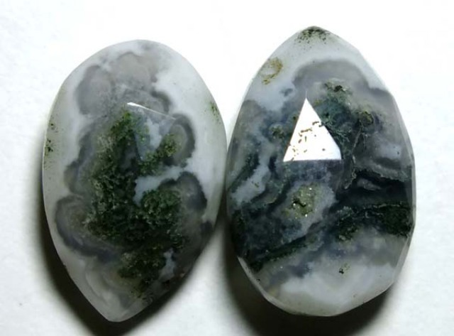 SOLAR QUARTZ DRILLED BEAD (2PCS) 14.30CTS NP-1258