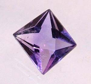 AMETHYST FACETED  STONE 0.7  CTS CG-1109