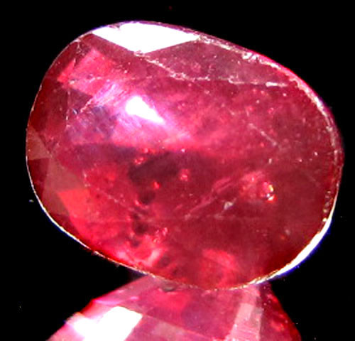 Free ship CERTIFIED PIGEON RED RUBY 3.28 CT 0243