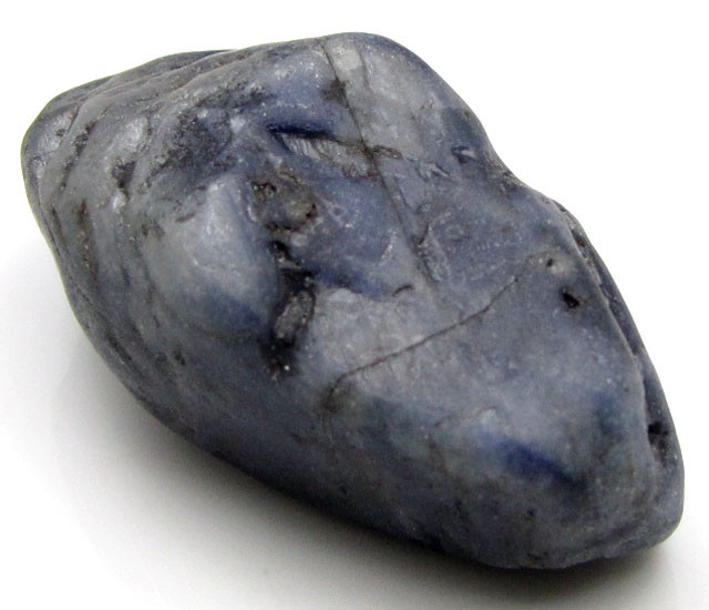 LARGE SAPPHIRE ROUGH SPECIMEN FROM LAOS  89 CTS  GTT 1458