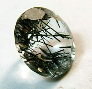 FACETED TOURMALATED QUARTZ 1.15 CTS PG-603