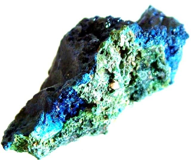 AZURITE+MALACHITE SPECIMEN FROM MOROCCO  36.50 CTS [MX 6253]