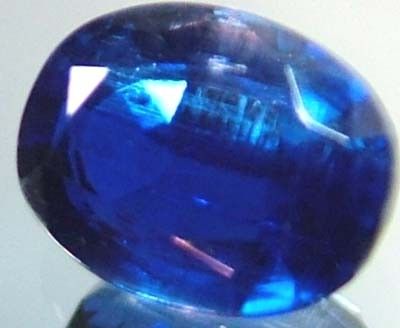 ROYAL BLUE KYANITE STONE FACETED -INDIA 1.88 CTS [S5081 ]