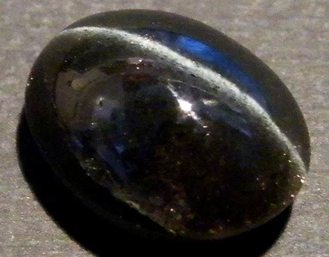 SIX STAR  BLACK DIOPSIDE STONE 6.95  CTS  ST 845