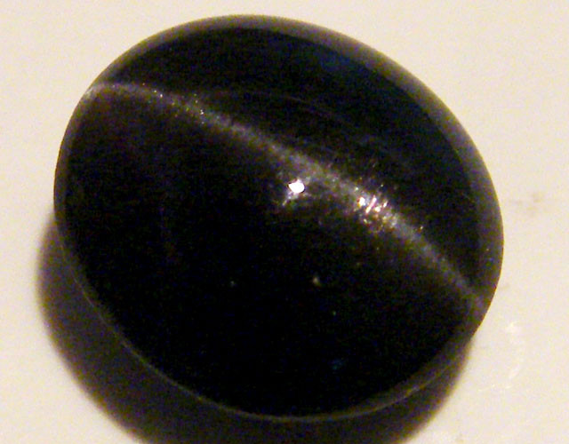 BLACK DIOPSIDE STONE  5.35 CTS  ST 854