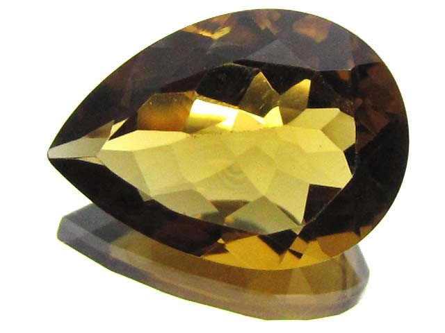 CERTIFIED YELLOW CITRINE 9.55 CTS 0704
