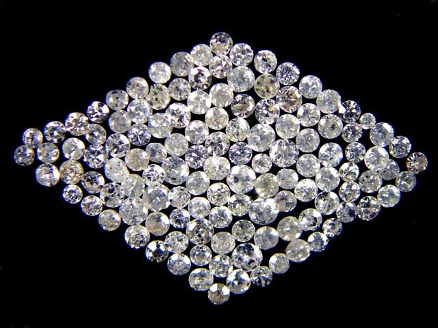 ONE CARAT  PARCEL - ONE POINTER DIAMONDS   OP1392