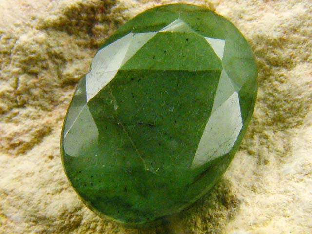 5.04 cts CERTIFIED  FACETED EMERALD    0432