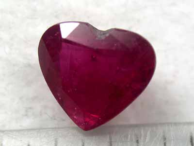 NATURAL RUBY FROM LAOS 1.25CTS G401