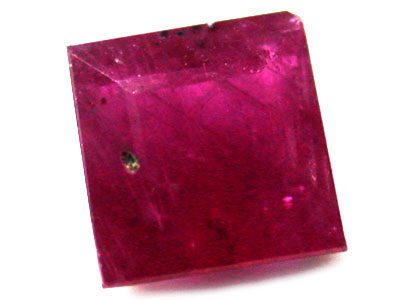NATURAL FACETED RUBY  0.40CTS A1227
