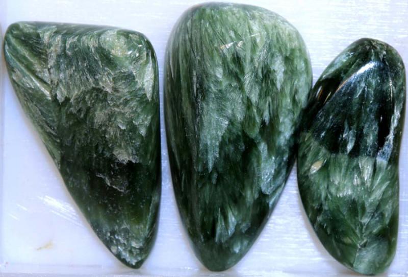 57CTS GREEN SERAPHINITE PARCEL ADG-379