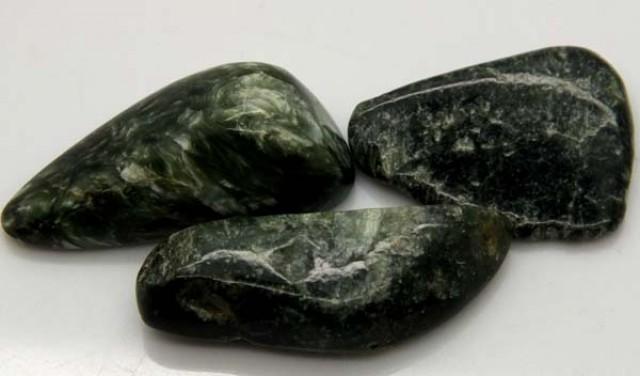 GREEN SERAPHINITE 58 CTS ADG-378
