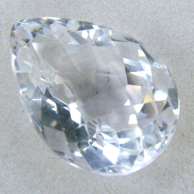 FACETED CLEAR CRYSTAL QUARTZ 10.15 CTS PG-569