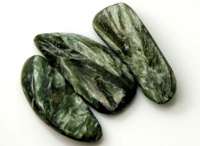GREEN SERAPHINITE 31 CTS ADG- 359