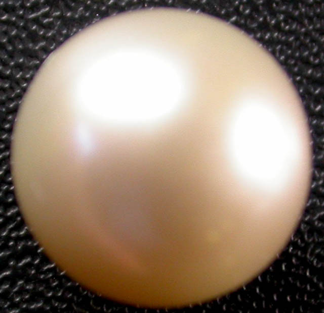 AAA  GRADE ROUND PEARL HIGH LUSTER-10.71 MM [PF 1545]