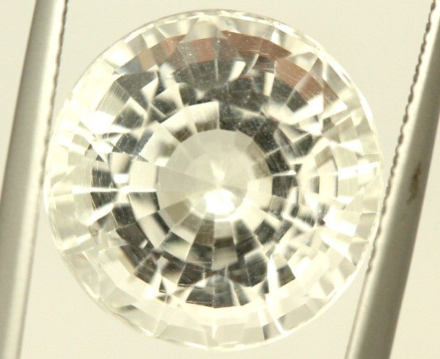 FACETED CLEAR CRYSTAL QUARTZ 11.55 CTS  PG-1413