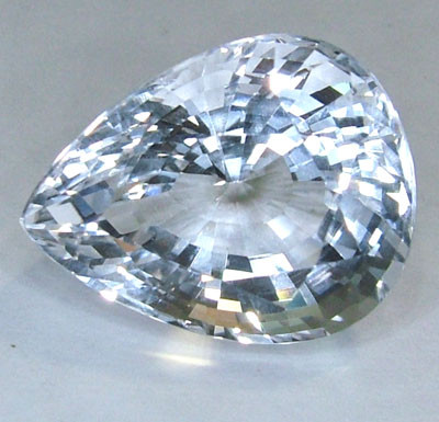 FACETED CLEAR CRYSTAL QUARTZ 12.60 CTS  PG-1180