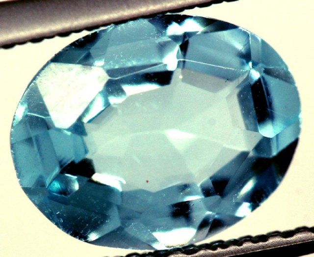 BLUE TOPAZ NATURAL FACETED 2.50 CTS   PG-1139