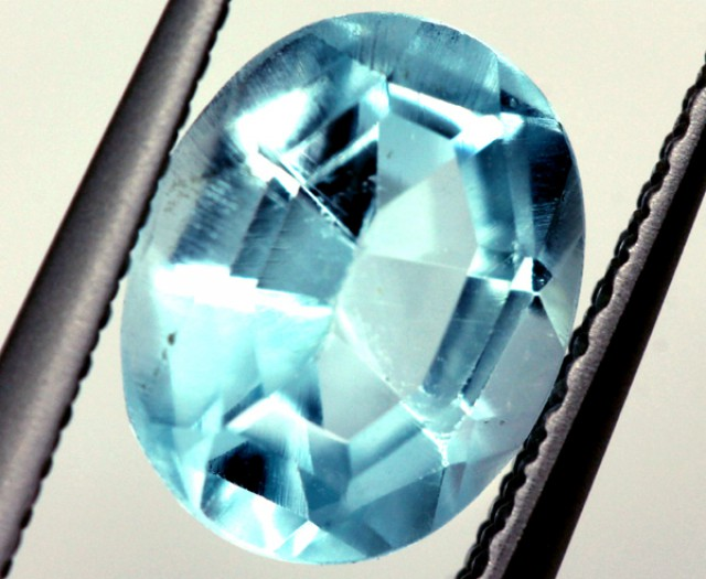 BLUE TOPAZ NATURAL FACETED 2.25 CTS   PG-1141