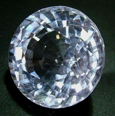 FACETED CLEAR CRYSTAL QUARTZ 8.15 CTS  PG-1190