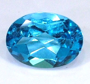 BLUE TOPAZ NATURAL FACETED 1.10 CTS  PG-1025