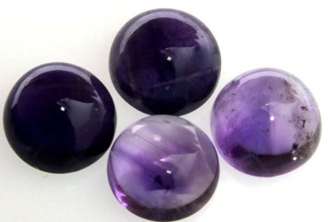 AMETHYST CABS ( 4 PC) 17.4 CTS CG-1145