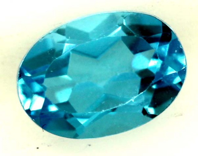 BLUE TOPAZ NATURAL FACETED 1.05 CTS  PG-1284