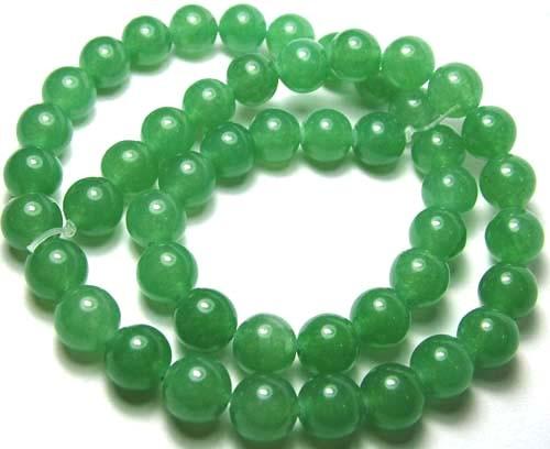 Lovely Green Aventurine Round Beads B173