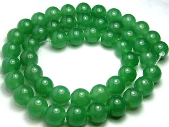 Lovely Green Aventurine Round Beads B184