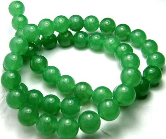 Lovely Green Aventurine Round Beads B189