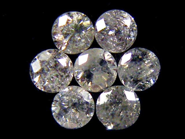 PARCEL 7 WHITE VS 1.6 POINTER DIAMONDS 0.252CT OP1469