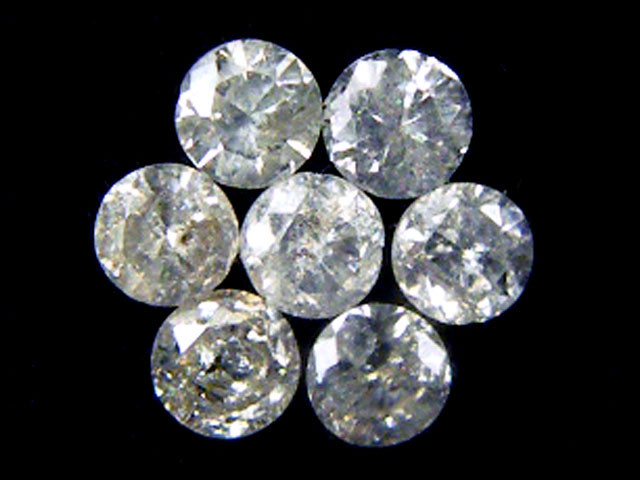 PARCEL 7 WHITE VS 1.6 POINTER DIAMONDS 0.318CT OP1475