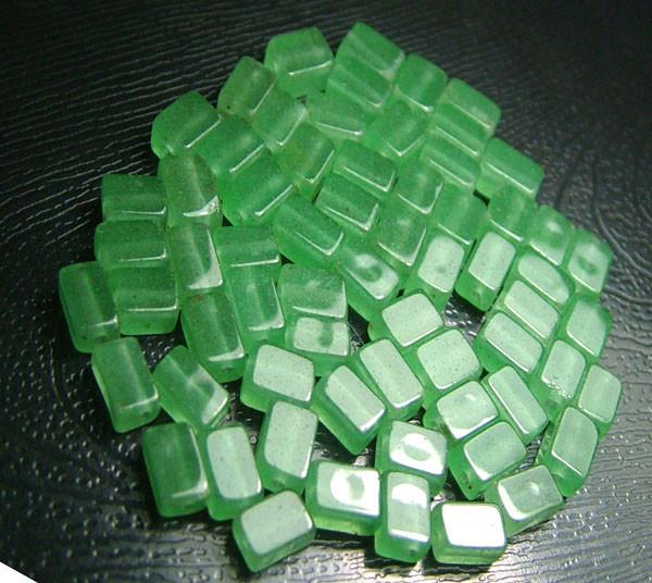 100% Natural Fancy Green Aventurine Beads B273