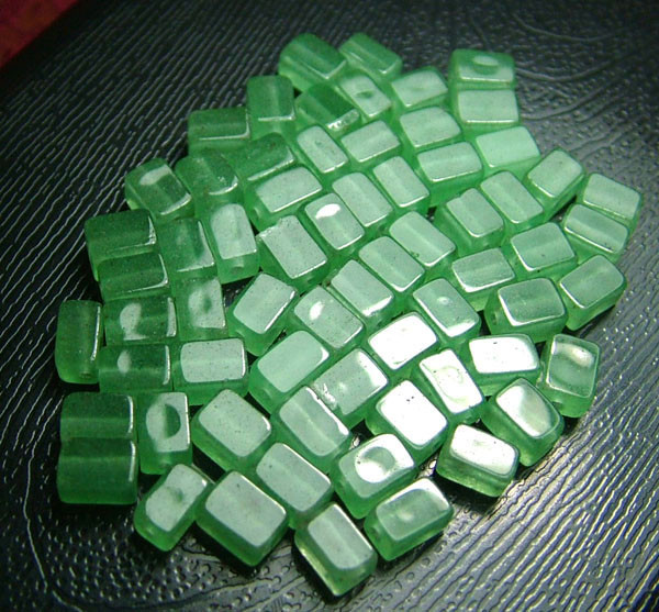 100% Natural Fancy Green Aventurine Beads B277
