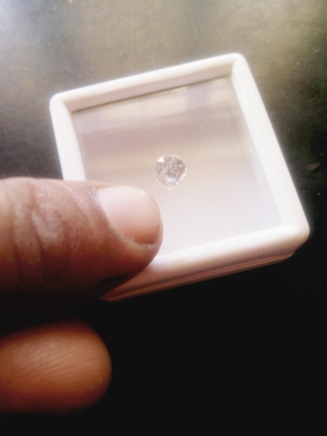 NATURAL WHITE DIAMOND-SOLITIARE-1CTW-1PCS,NR