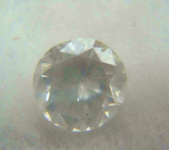 NATURAL WHITE DIAMOND-3.8MMSIZE-0.20CTWSIZE-1PCS,NR