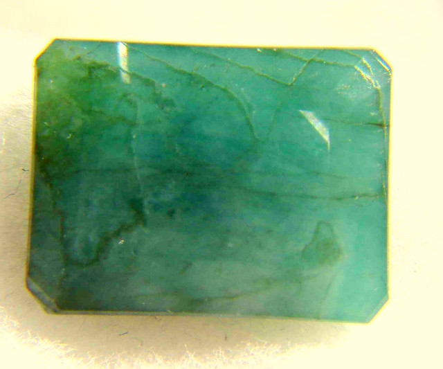 NATURAL EMERALD, HUGE SIZE--15CTW-ZAMBIAN, LOWEST DEAL