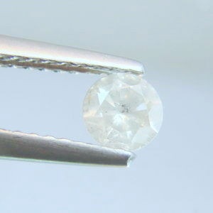 NATURAL WHITE DIAMOND-0.35CTWSIZE-4.2MM-1PCS,NR