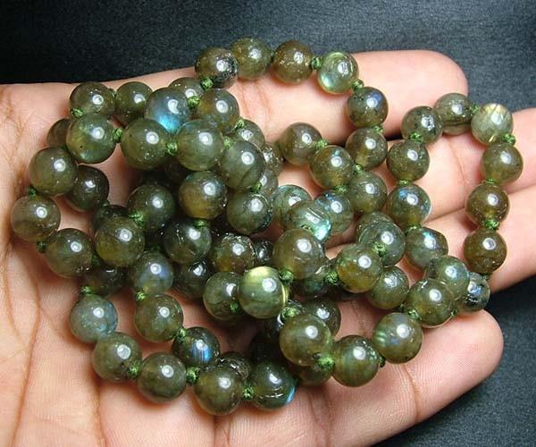 100% Natural Multicolor Labradorite Beads B403