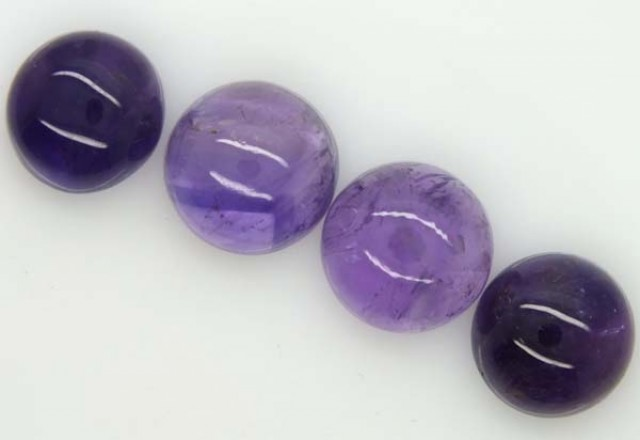AMETHYST CABS ( 4 PC) 18.2 CTS CG-1153