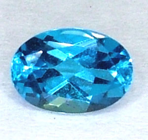 BLUE TOPAZ NATURAL FACETED 0.95 CTS  PG-1272