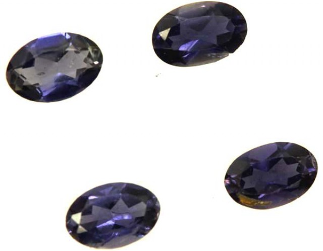 IOLITE FACETED STONE (2 PAIR) 1.25 CTS  PG-1326