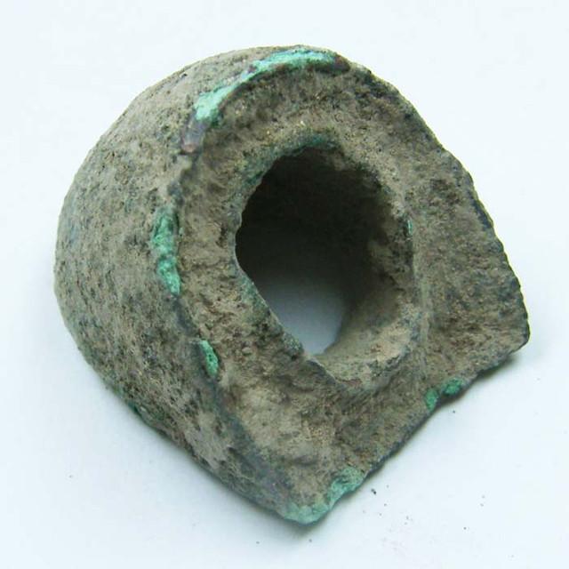 ANCIENT ROMAN ARTIFACT BRONZE  100-200 AD OPAC1606